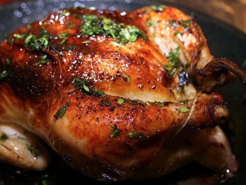 Курица тушка духовке рецепты фото