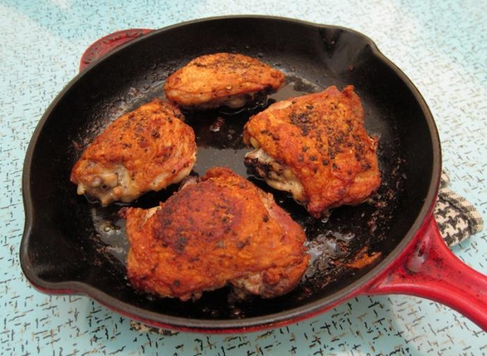 Простые и вкусныеы на сковородке