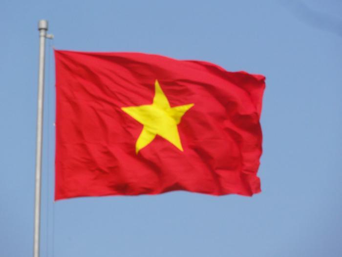 как смотрится флаг вьетнама фото
