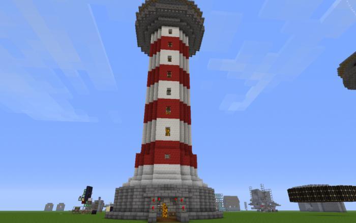 Майнкрафт как сделать чтобы маяк светил