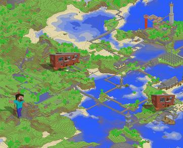 Карту магазина для майнкрафт 1.7.2