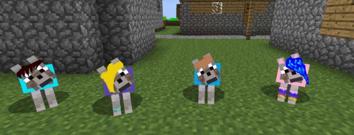 Как сделать собаку в майнкрафте