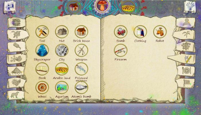 Рецепты для doodle alchemy на бумаге