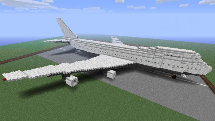майнкрафт самолеты