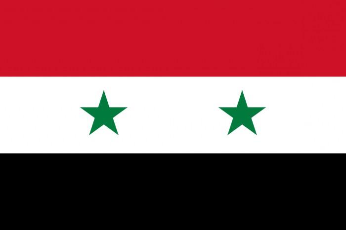 зелёно бело красный флаг с знаком