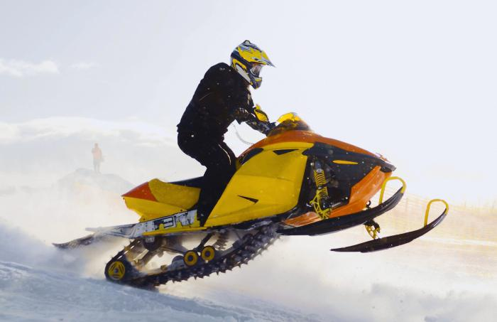 двигатель для снегохода