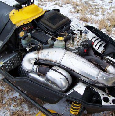 двигатель снегохода динго