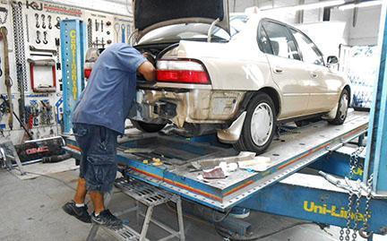 Стапели для кузовного ремонта: виды и описание