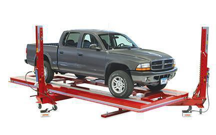 стапель напольный для кузовного ремонта