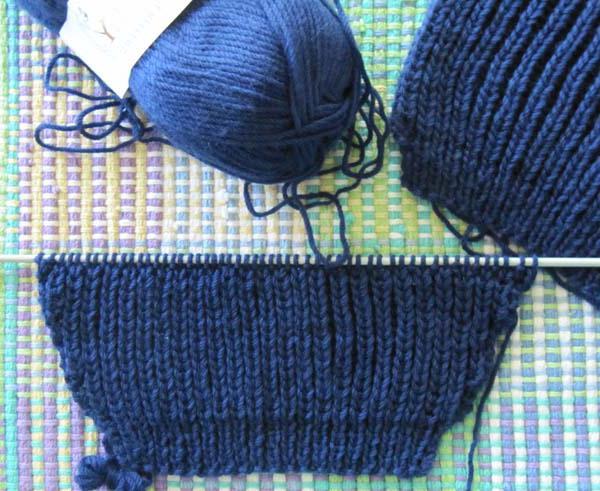 вязание рукава сверху спицами
