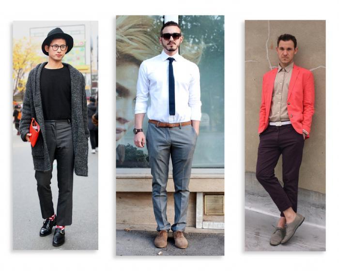 стили одежды мужской