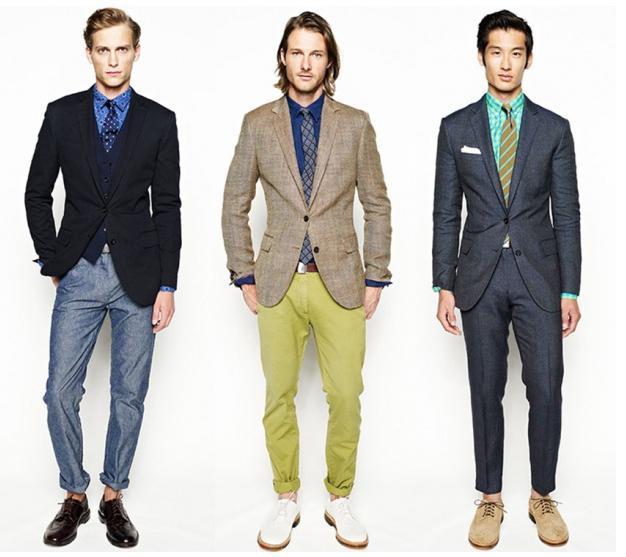 мужской деловой стиль одежды