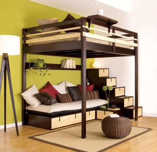 кровати двухъярусные металлические для взрослых