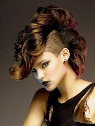 женские стрижки с выбритыми висками фото