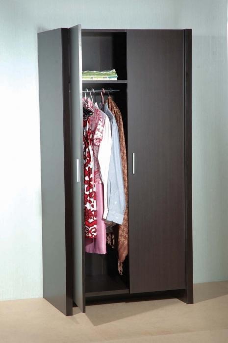 шкаф для одежды двухстворчатый цена