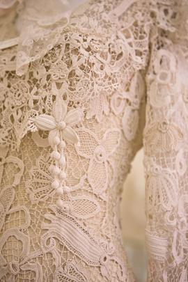 платье ирландское кружево