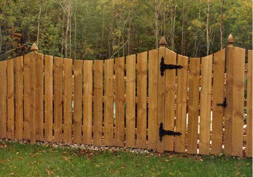Своими руками забор на даче