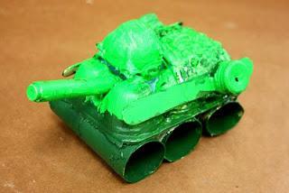 поделка танк своими руками