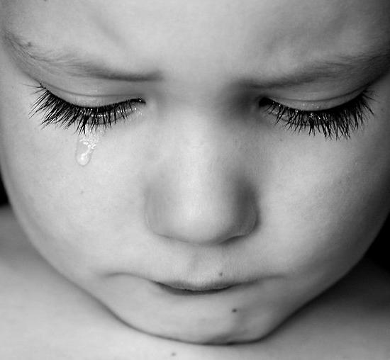 Картинки грустные до слез про детей