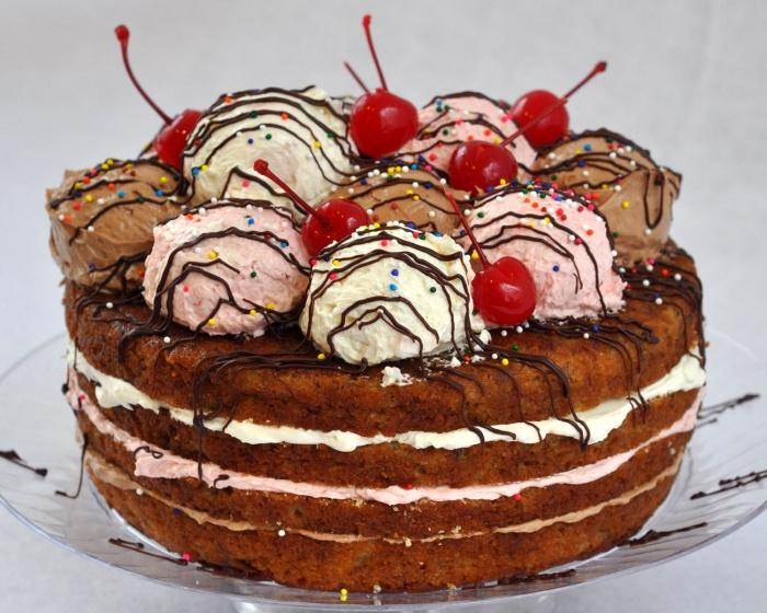 Легкие торты рецепт