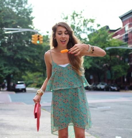 Короткое летнее платье своими руками для начинающих