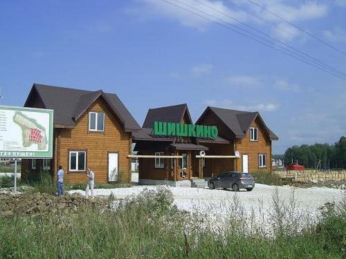 Коттеджный поселок Шишкино Березовский