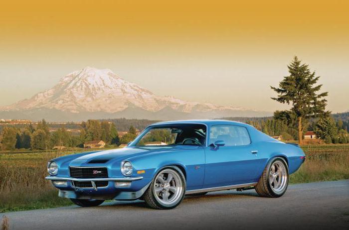 Автомобиль Chevrolet Camaro, первое поколение: характеристики и отзывы