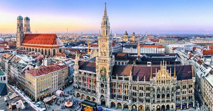 крупные города германии список
