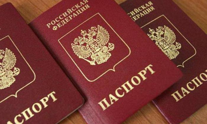 Документы, удостоверяющие личность граждан РФ