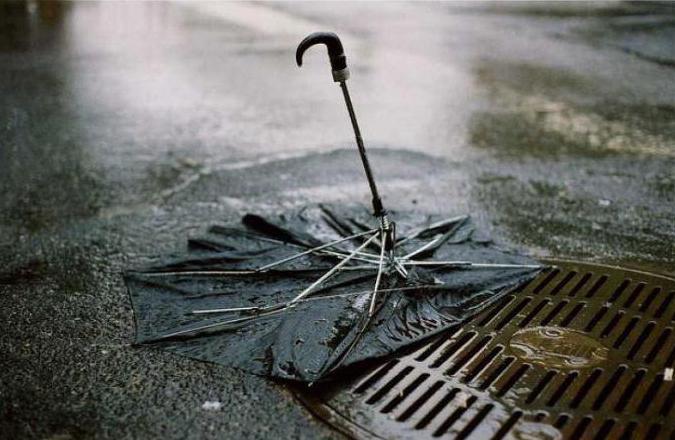 Сонник: зонт