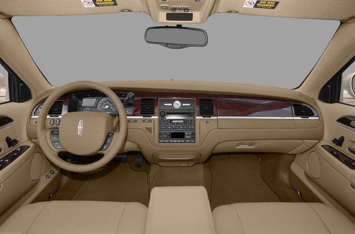 lincoln town car лимузин технические характеристики