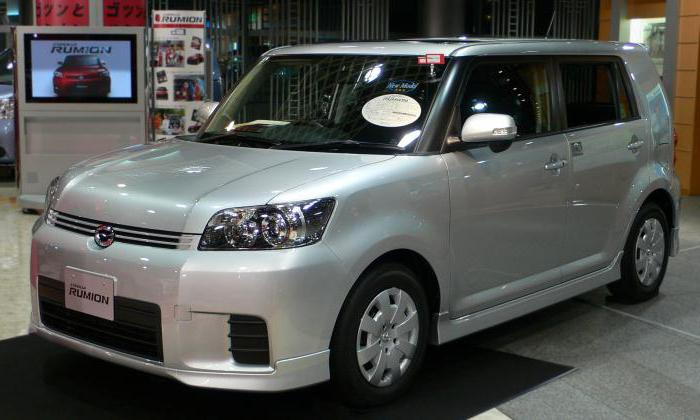 «Тойота-Румион»: описание и технические характеристики компактного японского минивэна