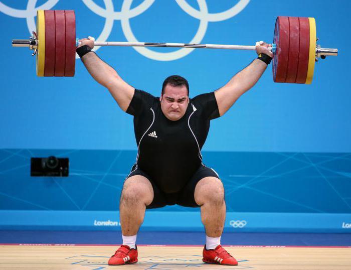 тяжелая атлетика тренировки