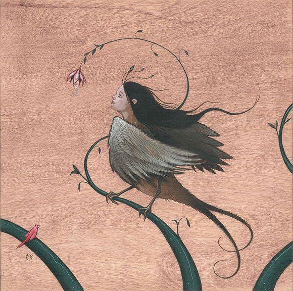 славянская птица гамаюн