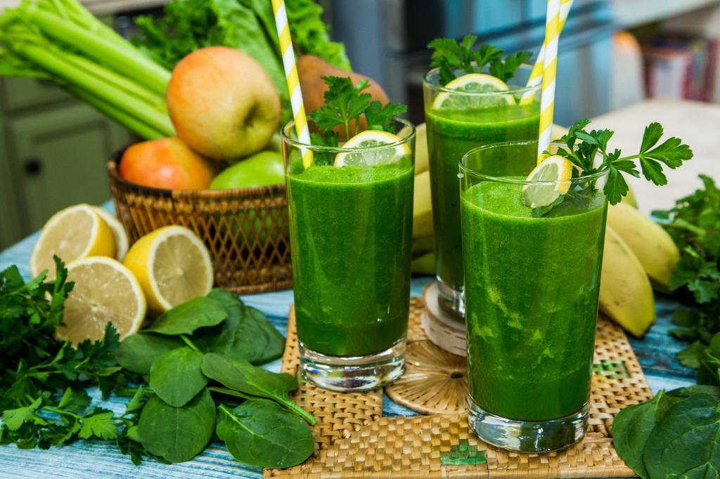 Напиток для похудения лимон вода петрушка