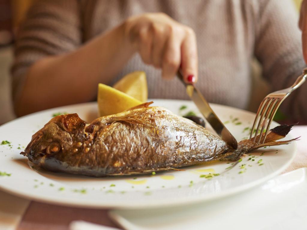 Плохо обработанная речная рыба - потенциальный источник паразитов