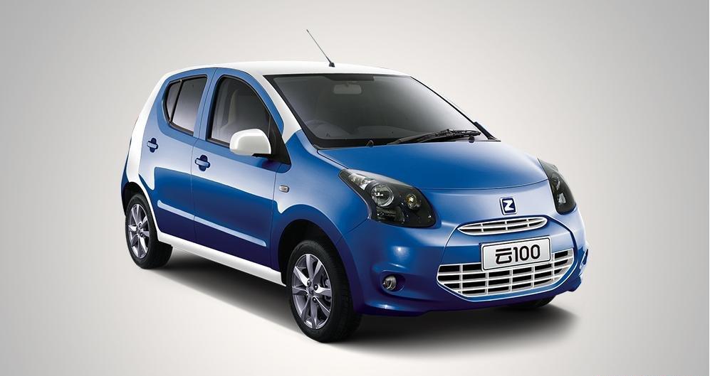 Китайский электромобиль Zotye Cloud 100 EV