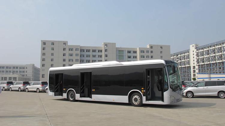Китайский электромобиль BYD eBUS-12