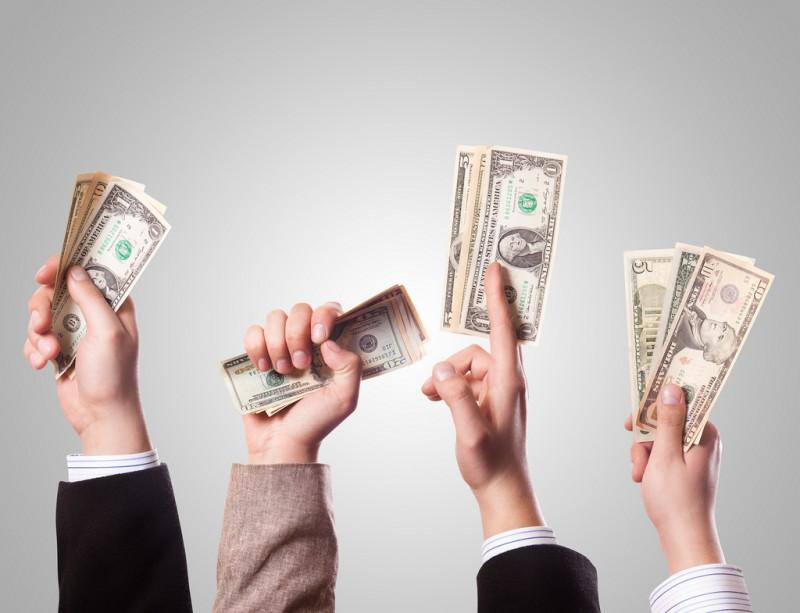 Приснилось много пачек денег