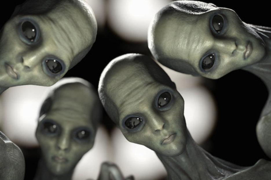 Поделки февраля, инопланетяне смешная картинка