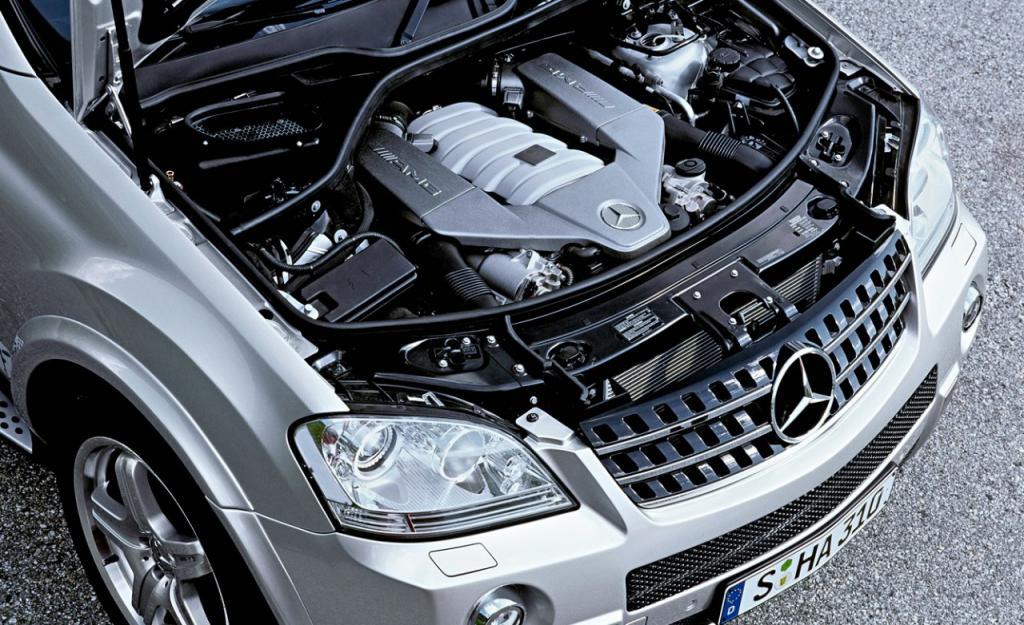 Mercedes benz ml w164