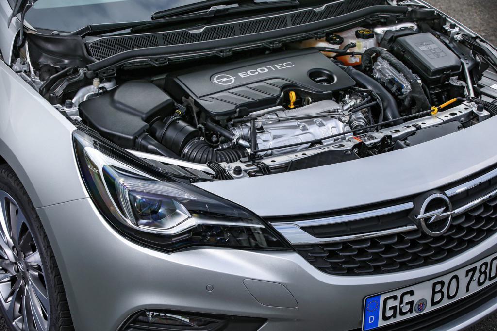 Двигатель Opel Astra K