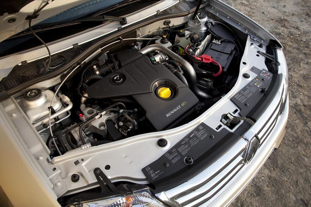 Renault Duster багажник