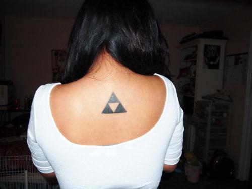 значение тату треугольник