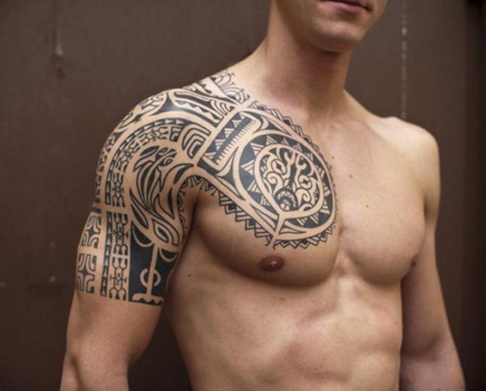оригинальные мужские тату