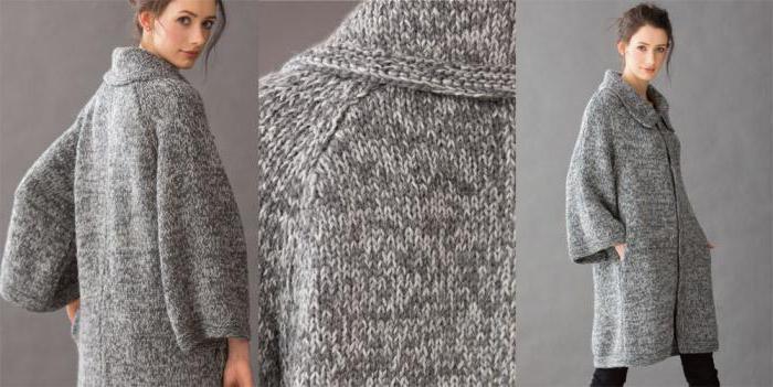 моделирование пальто кокон