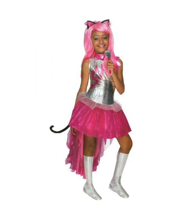 костюм монстер хай для девочек