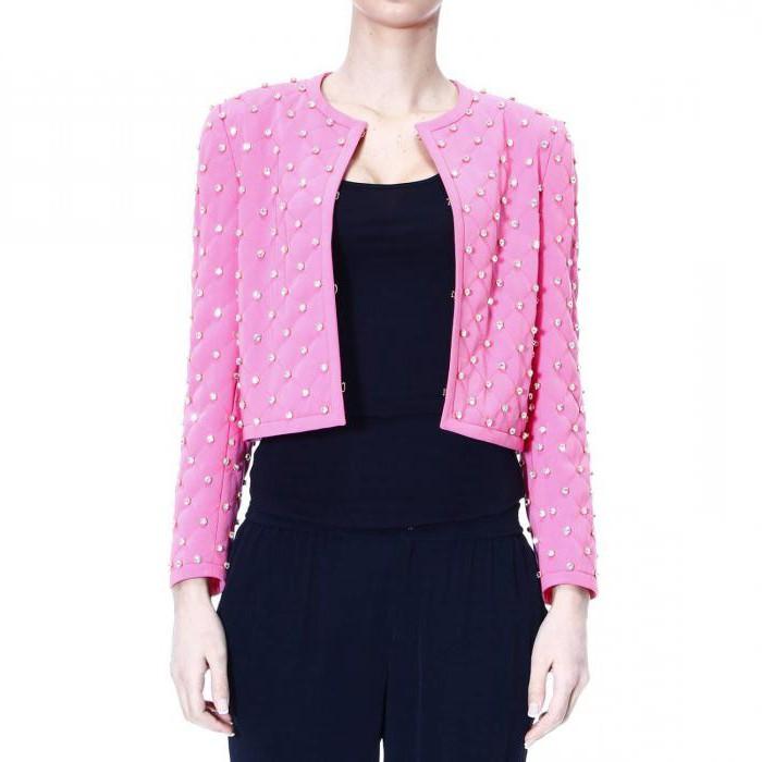 выкройка короткого пиджака женского
