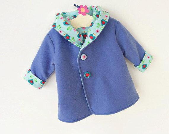 выкройка детского пальто для девочки 3 года