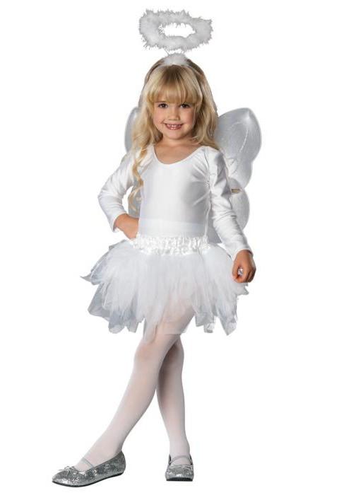костюм ангела детский